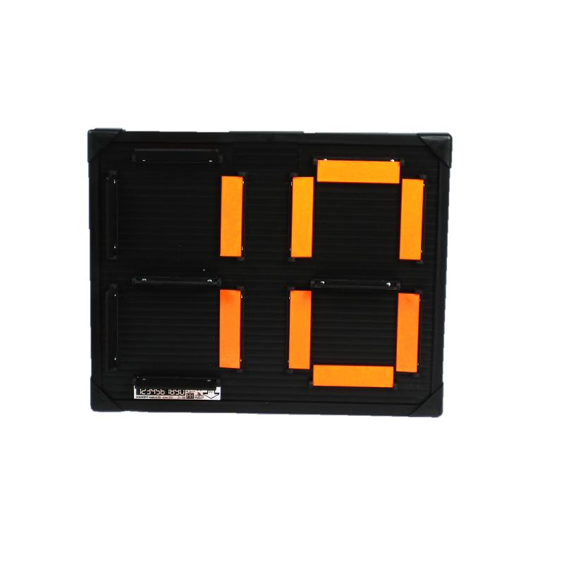 tabla za izmjenu igrača, semafor