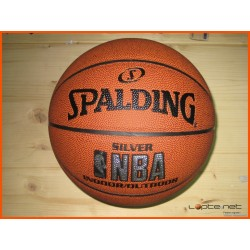 Spalding košarkaška lopta NBA SILVER